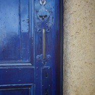 Blue Door painting by Richard Harby