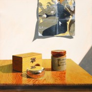 Still Life with Toulouse-Lautrec Poster by Richard Harby