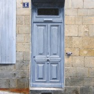 Nº5 Blue Door Gourdon by Richard Harby