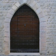 Door Within Door, Gourdon by Richard Harby